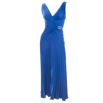 Loris Azzaro Royal Blue vintage dress
