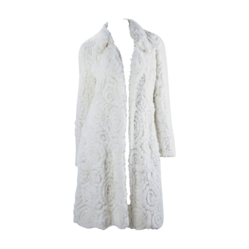 John Galliano White Mink fur vintage Coat