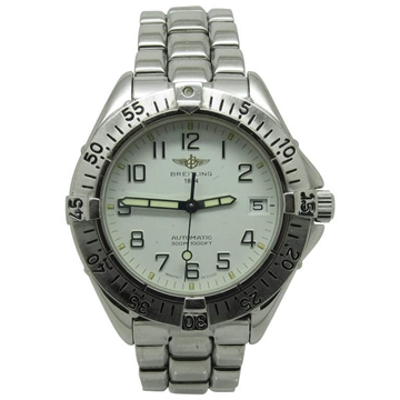 Breitling Stainless Steel Automatic vintage mens watch
