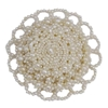 Antique Early Victorian Seed Pearl Brooch