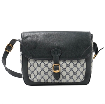 Gucci GG Pattern blue vintage Shoulder Bag