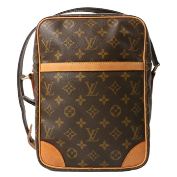 Louis Vuitton Canvas Monogram DANUBE GM Brown vintage shoulder bag