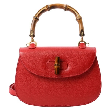 gucci-pig-skin-mini-bamboo-2way-bag-red