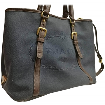 Prada Denim blue vintage shoulder bag