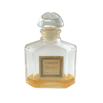 "Picture of Guerlain 1960s ""Jicky"" perfume bottle with box"