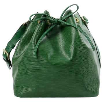 LOUIS VUITTON Epi noe Borneo Green vintage shoulder bag
