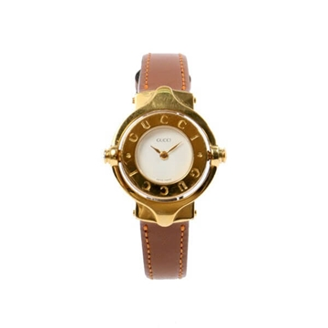 Gucci Logo Round Face vintage ladies Watch