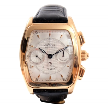 Paul Picot Majestic Rattrapante 0521 RG 18k Gold mens watch