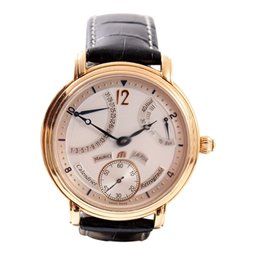 Maurice Lacroix Masterpiece Calendrier Retrograde mens watch