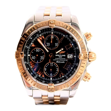 Breitling Chronomat Evolution Gold & Steel mens watch