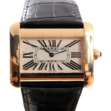 Cartier Tank Divan XL 18K Gold ladies watch