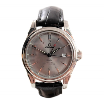 Omega DeVille Co-Axial GMT mens warch