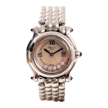 Chopard Happy Sport ladies watch with Diamonds in case