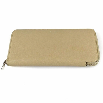 Celine Leather beige nude vintage Wallet