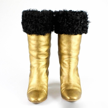 chanel-gold-boots-with-fur-trim-uk-5