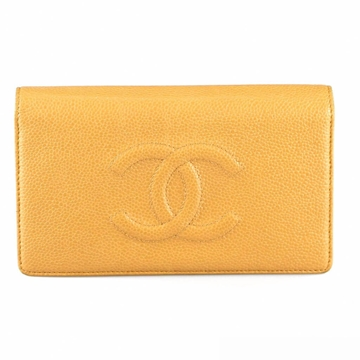 chanel-nude-leather-wallet