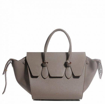Celine Leather Knot TAUPE COLOUR VINTAGE Bag