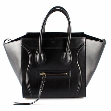 Celine Medium Phantom black vintage Tote bag