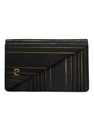 PIERRE CARDIN 1960s Silk black vintage Evening Clutch bag