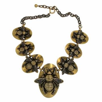 Joseff of Hollywood 1950s Vintage Bee Necklace