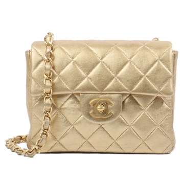 Chanel Classic Flap Mini Gold vintage shoulder bag