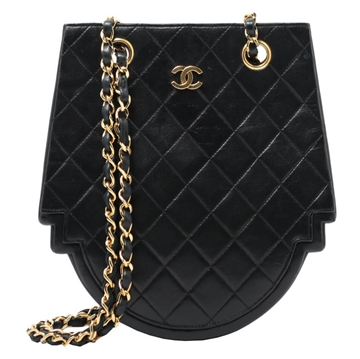 Chanel Design Frame black vintage shoulder bag