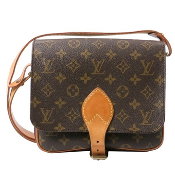 LOUIS VUITTON Canvas Monogram Sierre Brown vintage shoulder bag