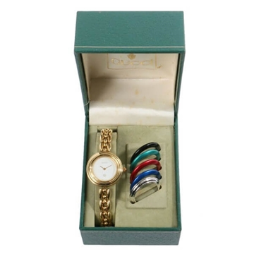Gucci 6 way colour change bezel vintage watch