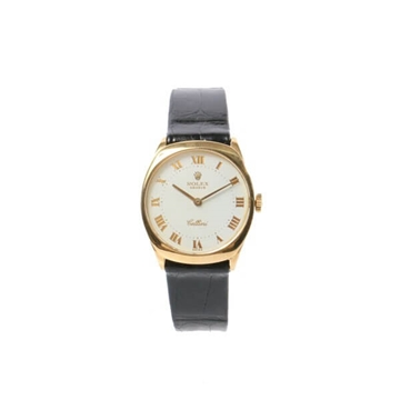 Rolex Cellini 18K gold vintage mens watch
