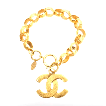 Chanel CC Mark Chain link vintage Bracelet