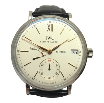 IWC Portofino stainless steel % Rose Gold mens watch