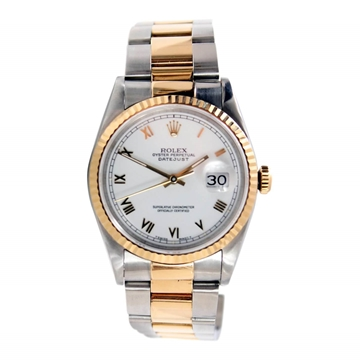 Picture of Rolex Datejust Gold/Steel Ref.16233 unisex watch