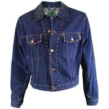 Jean Paul Gaultier 1980s Mens Vintage Denim Jacket