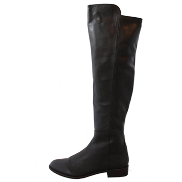 Stuart Weitzman Nappa Leather Brown Vintage Equestrian Boots