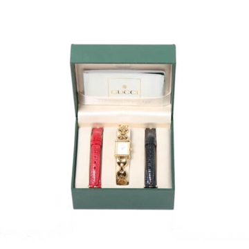 Gucci Multi Strap Gold Vintage Watch