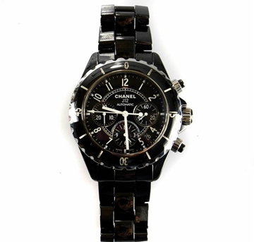Picture of Chanel J12 Ceramic Chronograph Black Vintage Watch