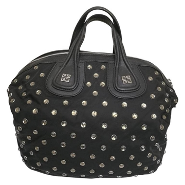 Givenchy Nightingale Swarovski Crystal Embellished Black Vintage Handbag