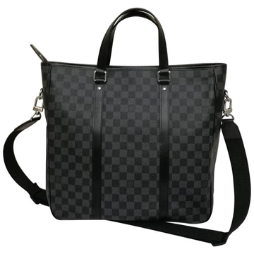 Louis Vuitton Damier Graphite Grey Vintage Tote Bag