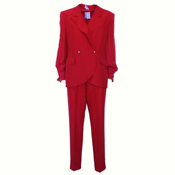 Ferre two piece Red vintage trouser suit