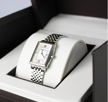 Raymond Weil Stainless Steel Silver Tone Vintage Watch