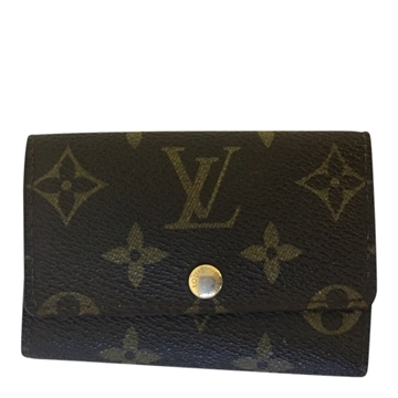Louis Vuitton key holder monogram canvas vintage key wallet