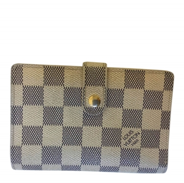 Louis Vuitton damier azur canvas vintage wallet