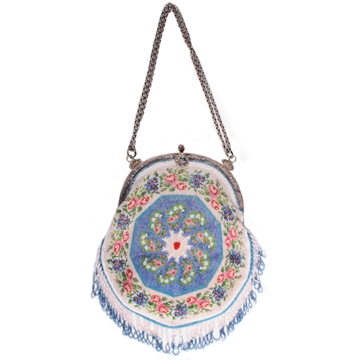Picture of Vintage 1920s intricately Beaded evening bag