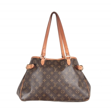 Louis Vuitton Monogram Canvas Batignolles Horizontal brown Tote Bag