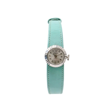 Rolex Chameleon Three Strap Mint Green Vintage Watch