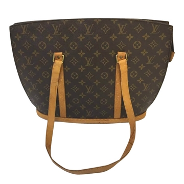 Louis Vuitton Babylon monogram canvas brown vintage shoulder bag