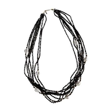 Balenciaga Sautoir Black Vintage Necklace