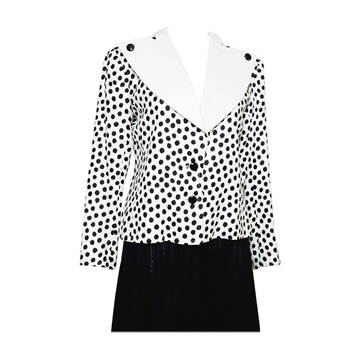 Yves Saint Laurent 1980s Black & White vintage Jacket