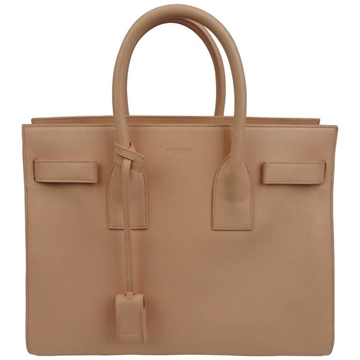 Saint Laurent Small Sac Du Jour Beige Vintage Tote Bag