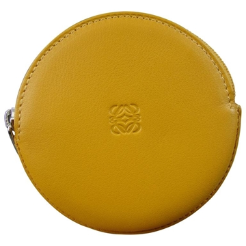 Loewe Cookie Coin Yellow Vintage Purse Wallet